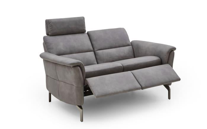 Sofa 2 Sitzer Twayn in hellgrau, mit Funktionen online bei Hardeck kaufen
