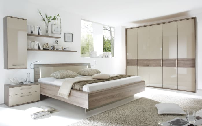 schlafzimmer luna in eiche optik online bei hardeck entdecken. Black Bedroom Furniture Sets. Home Design Ideas