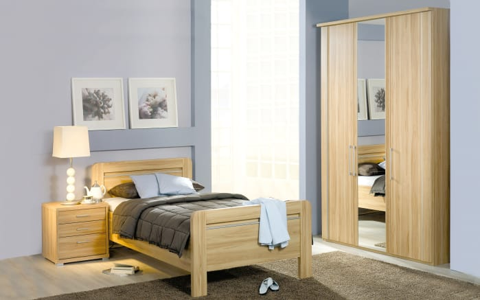 Senioren-Schlafzimmer Iris in Eiche Sonoma Optik online bei HARDECK ...
