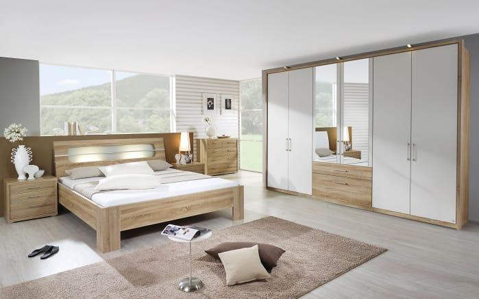 Schlafzimmer Neuss/Plus 2 in Eiche Sonoma-Optik/alpinweiß online bei ...