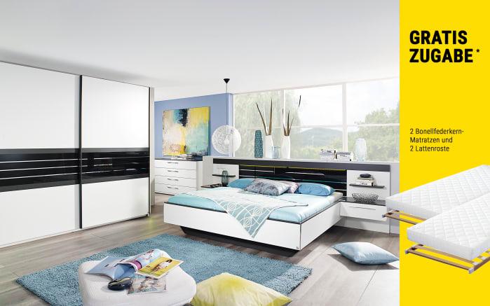 Schlafzimmer Coleen in weiß