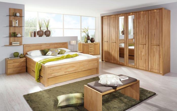 Schlafzimmer Gatto in Erle teilmassiv
