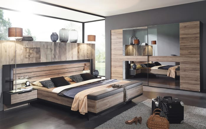 schlafzimmer ventura in eiche optik online bei hardeck kaufen. Black Bedroom Furniture Sets. Home Design Ideas