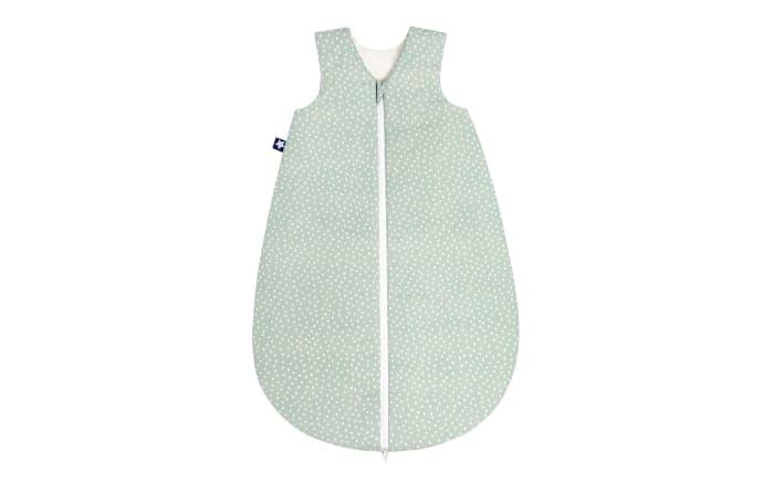Sommerschlafsack in Organic Bluebird salbei,, 50 cm