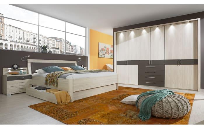 Schlafzimmer Lissabon in Polar-Lärche-Optik/ havanna