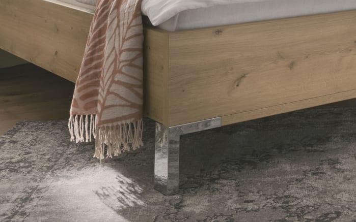 Bett Loft in weiß/Bianco Eiche-Nachbildung, Liegefläche ca. 180 x 200 cm-03