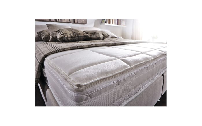 Boxspringbett Prodomo Basic in beige