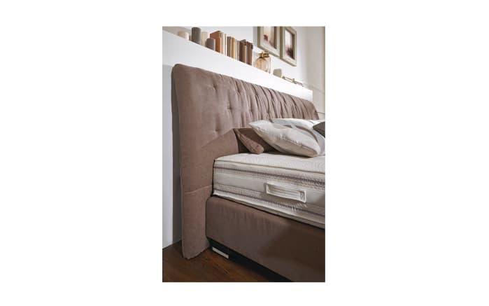 Boxspringbett Prodomo Comfort in braun