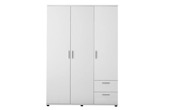 Drehtürenschrank Bibo in weiß, Breite ca. 115 cm
