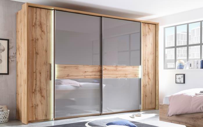 Schlafzimmer Milano in Wildeiche-Optik/Basaltgrau