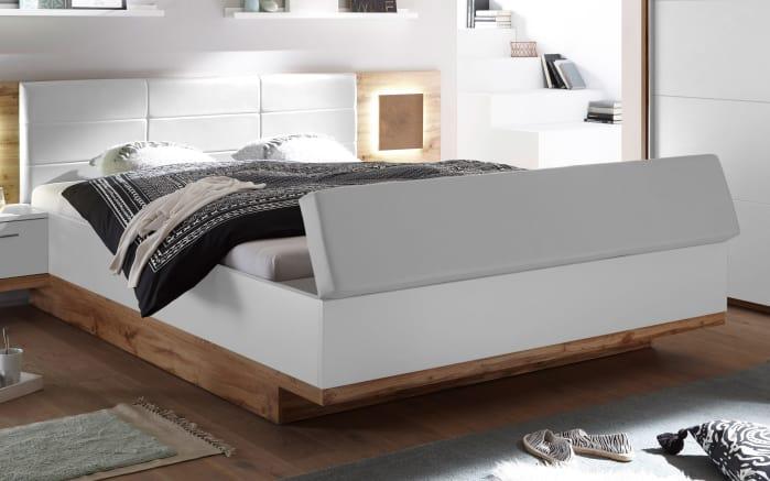 Schlafzimmer Rimini in weiß/Wildeiche-Optik online bei HARDECK kaufen