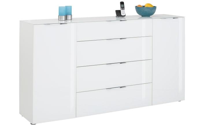 Kommode Trend in weiß, ca. 180 cm Breit