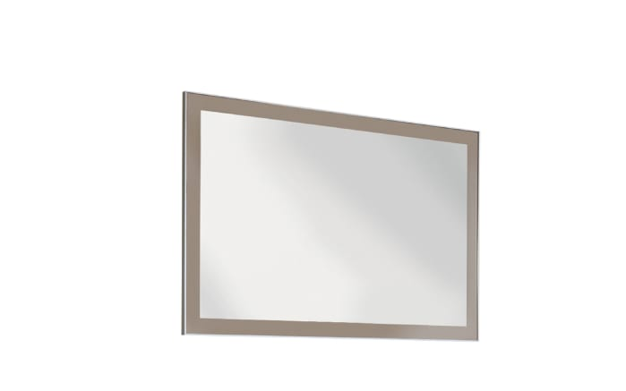 Spiegel Ventina in taupe, 120 x 77 cm