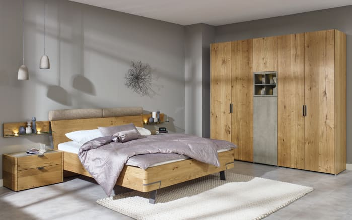 schlafzimmer fena in balkeneiche furniert online bei. Black Bedroom Furniture Sets. Home Design Ideas