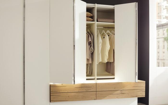 schlafzimmer gentis in wei eiche naturstamm online bei hardeck kaufen. Black Bedroom Furniture Sets. Home Design Ideas