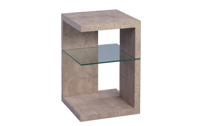 Beistelltisch Domingo in Beton-Optik