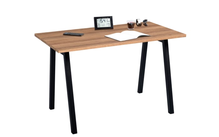 Schreibtisch Loft in Eiche-Optik