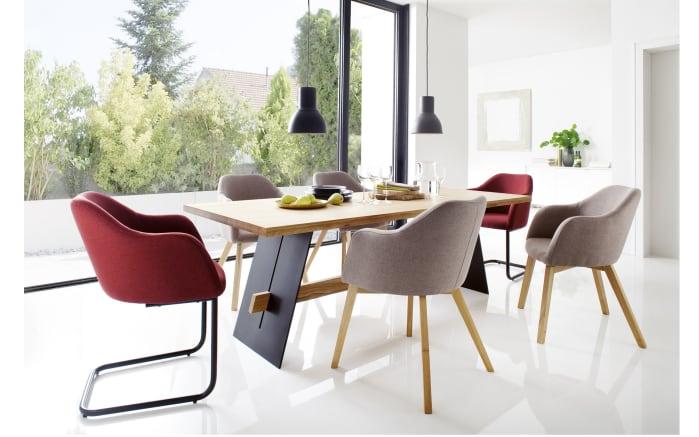 Stuhlgruppe Theo/Aladin aus Eiche natur