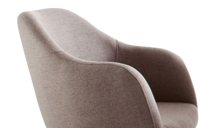 Sessel Theo in taupe