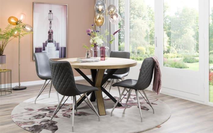 Tisch Ovada in braun