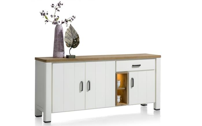Sideboard Arizona in weiß lackiert
