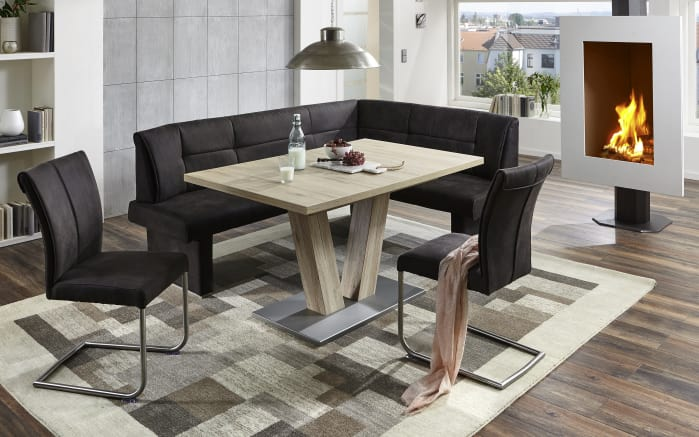 Schiebeplattentisch 3613 in San Remo-Optik