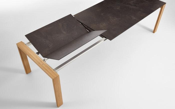 Ausziehtisch 9333/078 in Granit Design/Eiche bianco