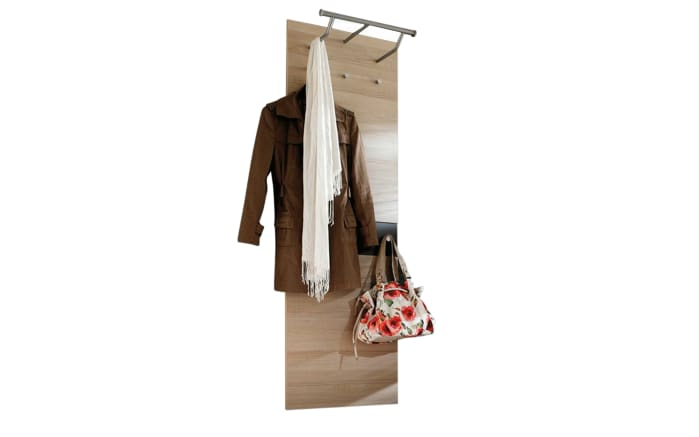 Garderobenpaneel Una in Bardolini Eiche-Nachbildung-01