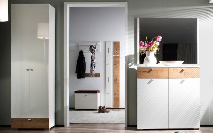 Spiegel Una in weiß, 98 x 75 cm