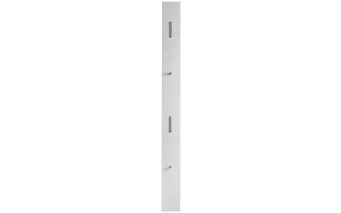 Garderobenpaneel Una in weiß