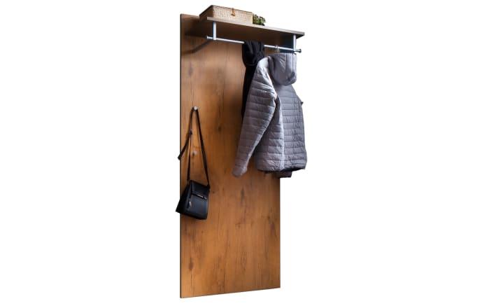 Garderobenpaneel Stelvio in Wildeiche-Dekor/karamell