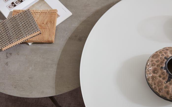 Couchtisch 6201 in Keramik-Betonoptik