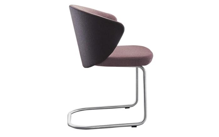 Stuhlgruppe Kim/ET642 in wildeiche/rosa