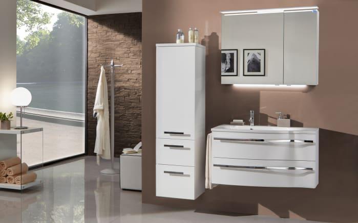 Spiegelschrank 3160 in weiß Glanz-02