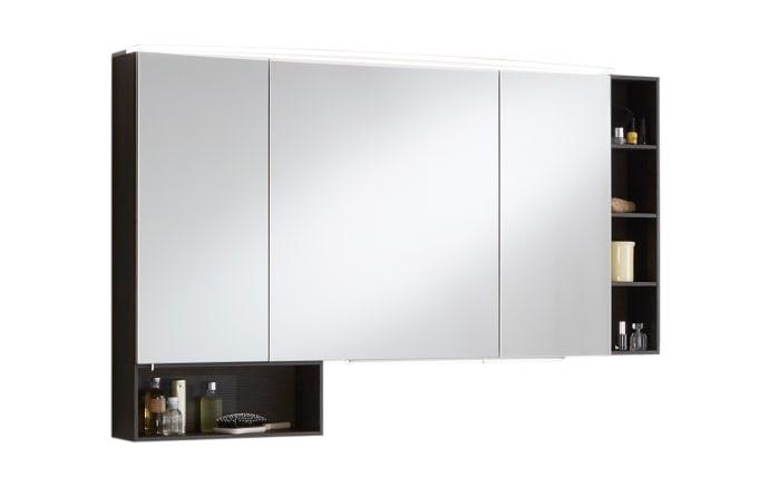 Spiegelschrank 3040 in Robinie dunkel Nachbildung-01