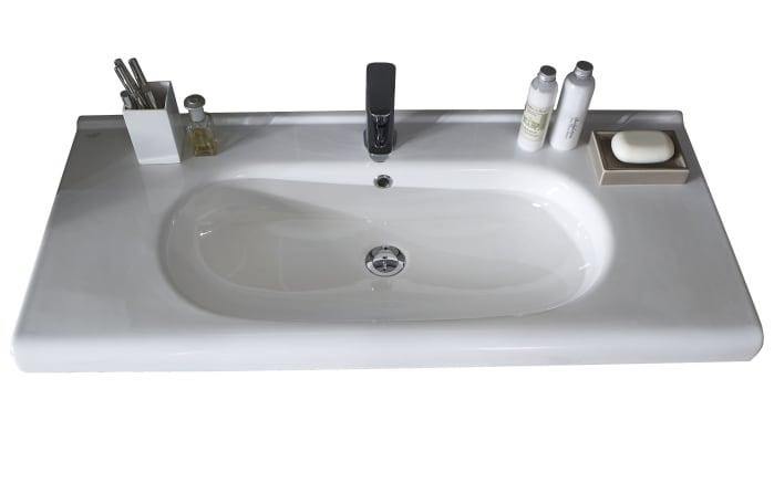 Badeinrichtung 3020 in Kastanie graphit Nachbildung