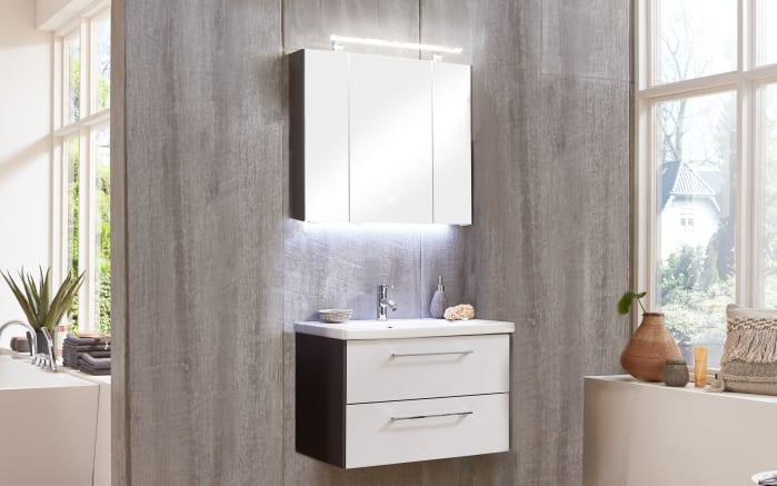 Badeinrichtung 3400 in weiß seidenglanz-weiß matt
