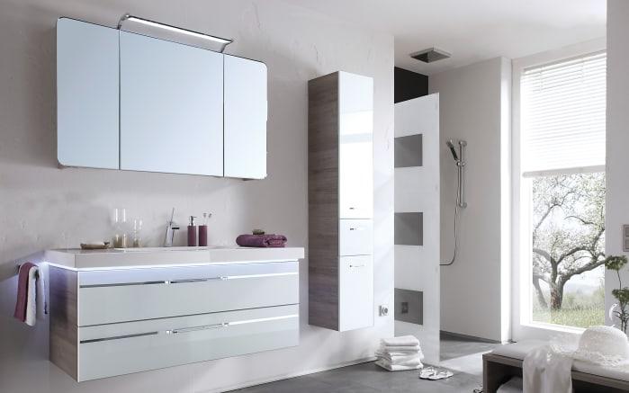Badeinrichtung Balto in optiwhite/San Remo Eiche Optik