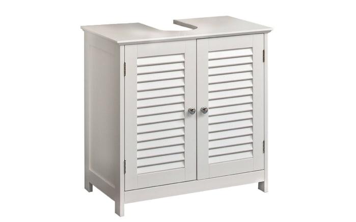Waschbeckenunterschrank Jasper in weiß