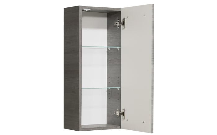 Wandschrank Alika in Graphit Struktur-Optik