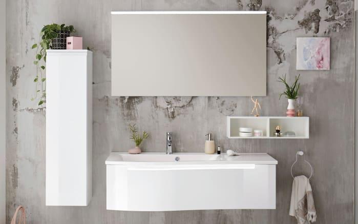 Badeinrichtung Purefaction in weiß Hochglanz