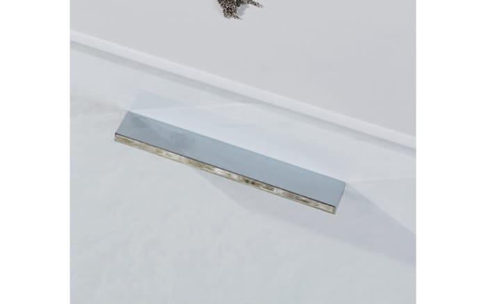 Badeinrichtung Zoom in polarweiß Hochglanz/Hunton Eiche-Optik