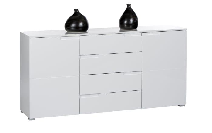 Sideboard Spice 8 in weiß Hochglanz