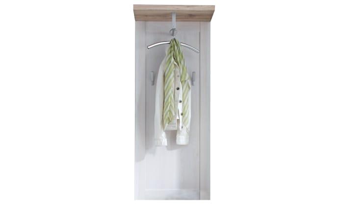 Garderobenpaneel Romance in weiß