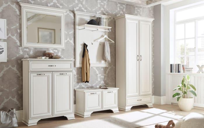 Garderobenschrank Venedig in used white
