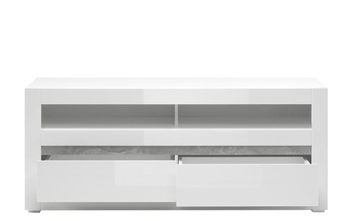 Lowboard Carat in weiß