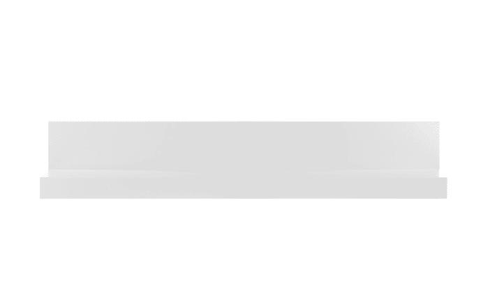 Wandboard Bianco in weiß/ Hochglanz-Optik