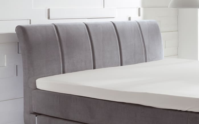 Boxspringbett Ronda in anthrazit