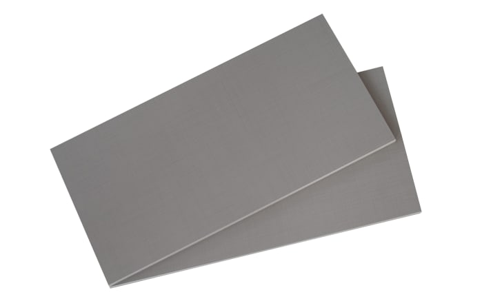 Einlegeboden 2er-Set in grau, für Fachbreite 90 cm