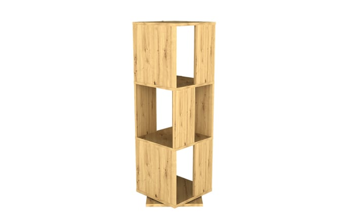 Drehregal Tower in Artisan Oak Nachbildung